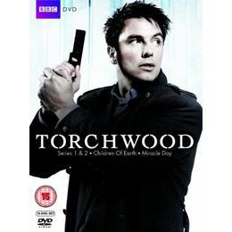 Torchwood - Series 1-4 [DVD] [2012]